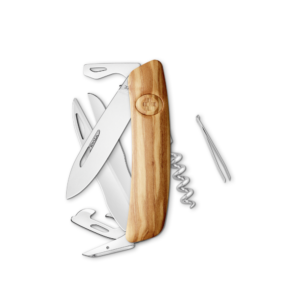 SWIZA Swiss Knife SWIZA D07 Olive tree - KNI.0110.6310