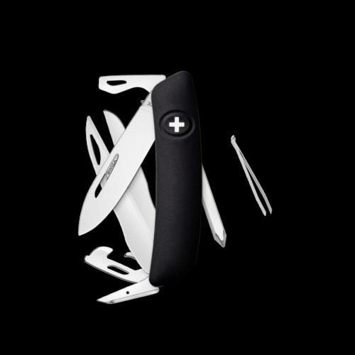 SWIZA Swiss Knife SWIZA D08 Black - KNI.0120.1010