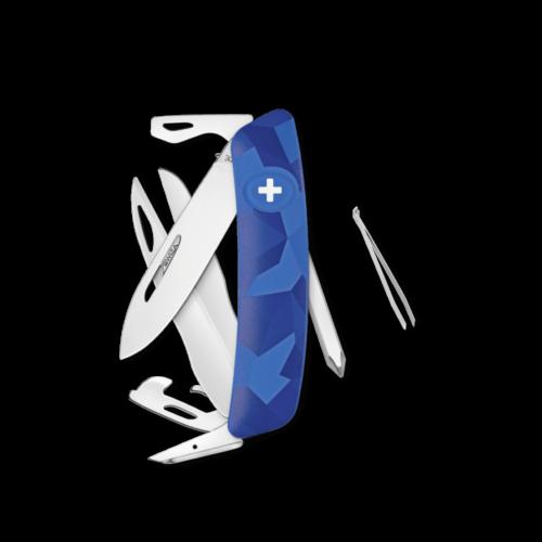 SWIZA Swiss Knife SWIZA D08 Blue - KNI.0120.2030