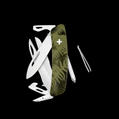 SWIZA Swiss Knife SWIZA D08 Olive - KNI.0120.2050