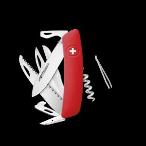 SWIZA Swiss Knife SWIZA D09 Red - KNI.0130.1000