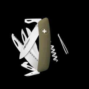 SWIZA Swiss Knife SWIZA D09 Olive - KNI.0130.1050