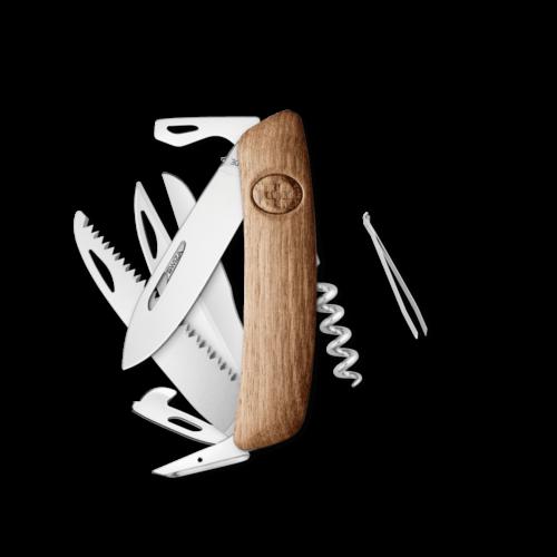 SWIZA Swiss Knife SWIZA D09 Walnut - KNI.0130.6300