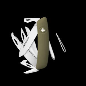 SWIZA Swiss Knife SWIZA D10 Olive - KNI.0140.1050