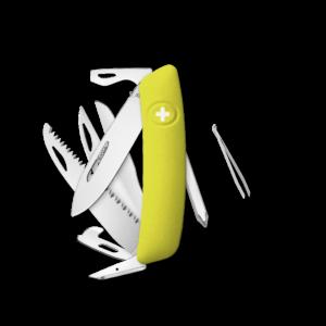 SWIZA Swiss Knife SWIZA D10 Yellow - KNI.0140.1080