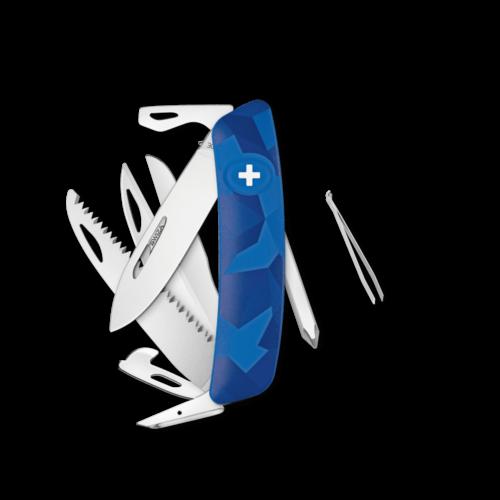 SWIZA Swiss Knife SWIZA D10 Blue - KNI.0140.2030