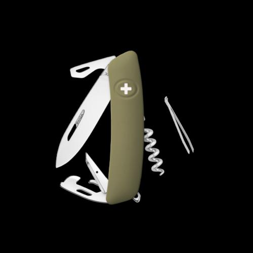 SWIZA Swiss Knife SWIZA D03R Olive - KNR.0030.1050