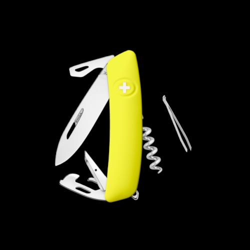 SWIZA Swiss Knife SWIZA D03R Yellow - KNR.0030.1080
