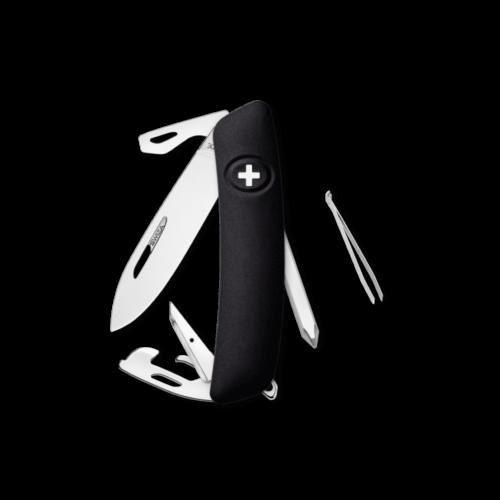 SWIZA Swiss Knife SWIZA D04R Black - KNR.0040.1010