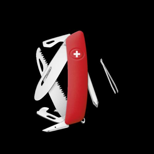 SWIZA Swiss Knife SWIZA J06R Red - KNR.0061.1000