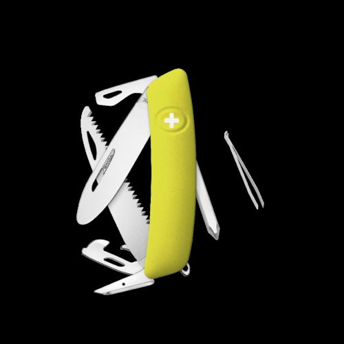 SWIZA Swiss Knife SWIZA J06R Yellow - KNR.0061.1080