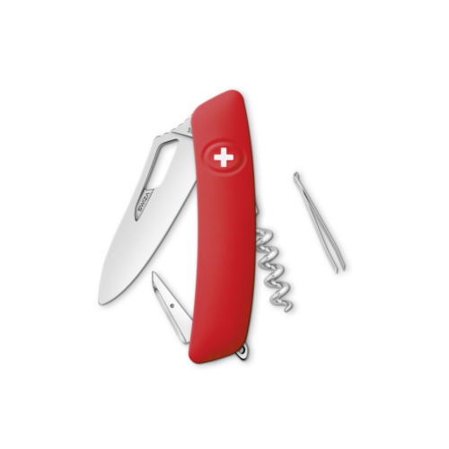SWIZA Swiss Knife SWIZA SH01R Red - KSH.0010.1000