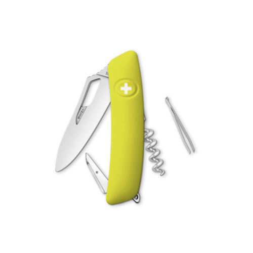 SWIZA Swiss Knife SWIZA SH01R Yellow - KSH.0010.1080