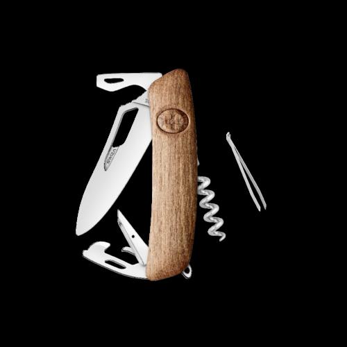 SWIZA Swiss Knife SWIZA SH03R Walnut - KSH.0030.6300