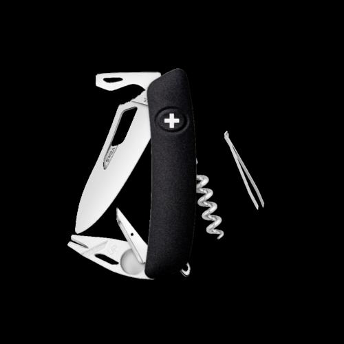 SWIZA Swiss Knife SWIZA SH03R-TT Black - KSH.0070.1010
