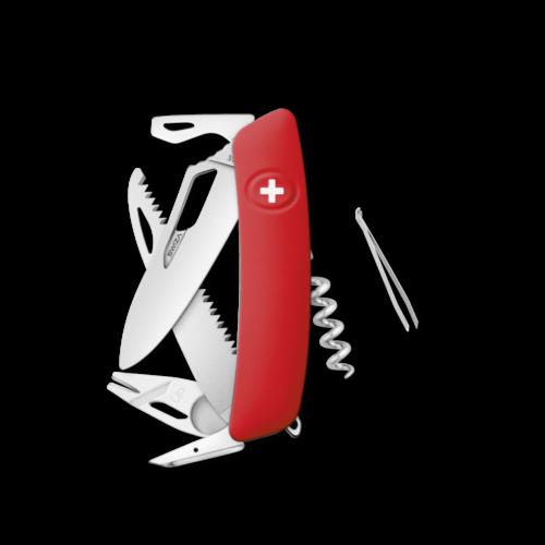 SWIZA Swiss Knife SWIZA SH05R-TT Red - KSH.0090.1000