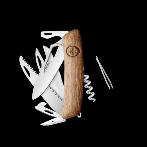 SWIZA Swiss Knife SWIZA SH09R Walnut - KSH.0130.6300