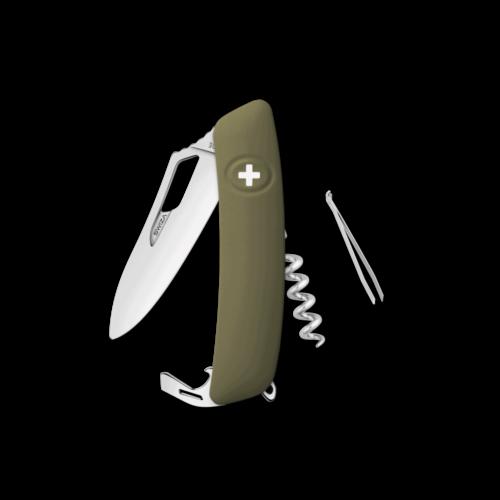 SWIZA Swiss Knife SWIZA SH01R-WM Olive - KSH.0180.1050