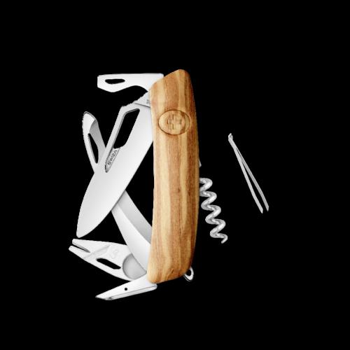 SWIZA Swiss Knife SWIZA SH05R-HUTT Olive tree - KSH.0190.6310