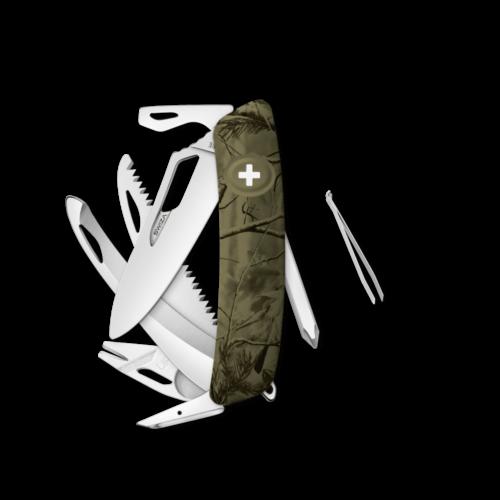 SWIZA Swiss Knife SWIZA SH10R-HUTT Olive - KSH.0220.2150