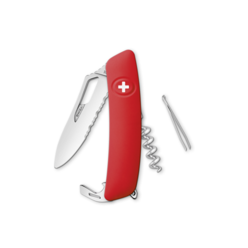 SWIZA Swiss Knife SWIZA SH01TR-WM Red - KST.0180.1000