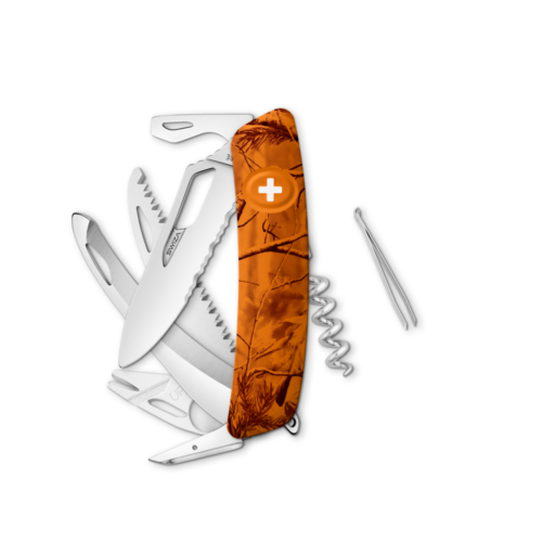 SWIZA Swiss Knife SWIZA SH09TR-HUTT Orange - KST.0210.2160