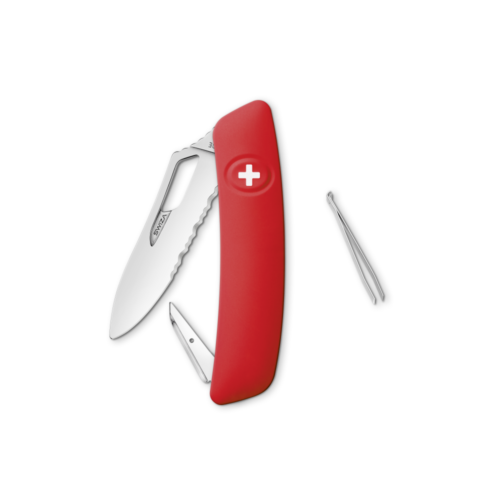 SWIZA Swiss Knife SWIZA SH00T Red - KST.0900.1000